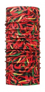 Chusta Chef Collection Patterned Chilli Red Buff - BUFF