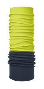 Chusta chroniąca przed wiatrem Windproof Solid Yellow Fluor Navy Buff - BUFF